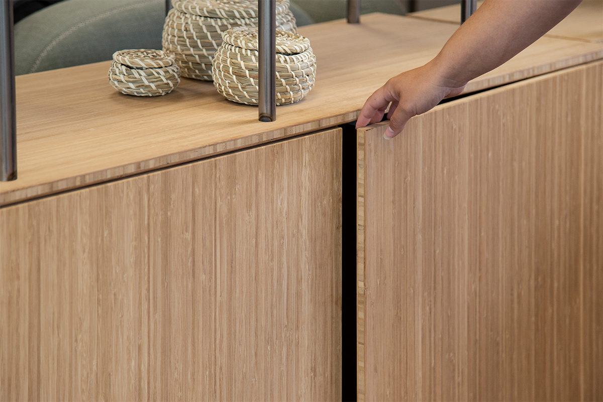 Bamboo - Double Cupboard Detail 3